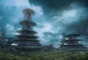 If you listen closely, you can almost hear the tortured screams of the test subjects at this clandestine biomedical research compound buried deep within the Borneo jungle. (Artist: Aaron Sims http://bit.ly/1iVwqWk)